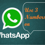 use multiple numbers on whatsapp